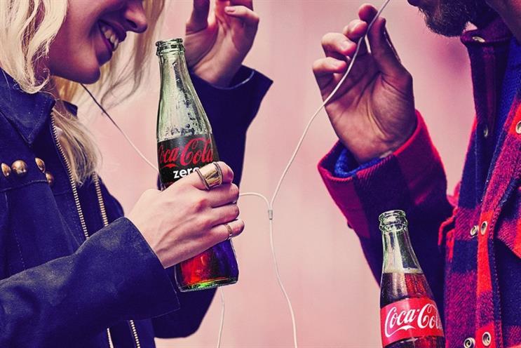 Coke Zero: sales have remained flat, according to IRI data