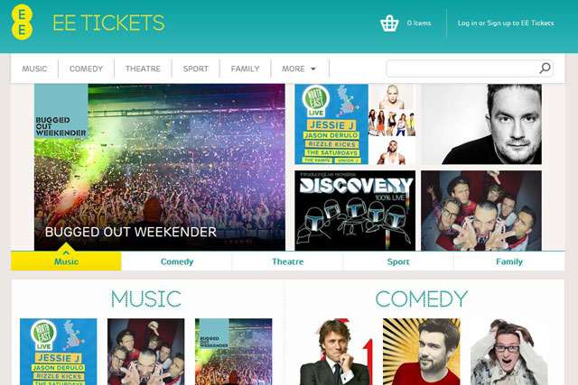 EE: launches curated ticket service for all customers