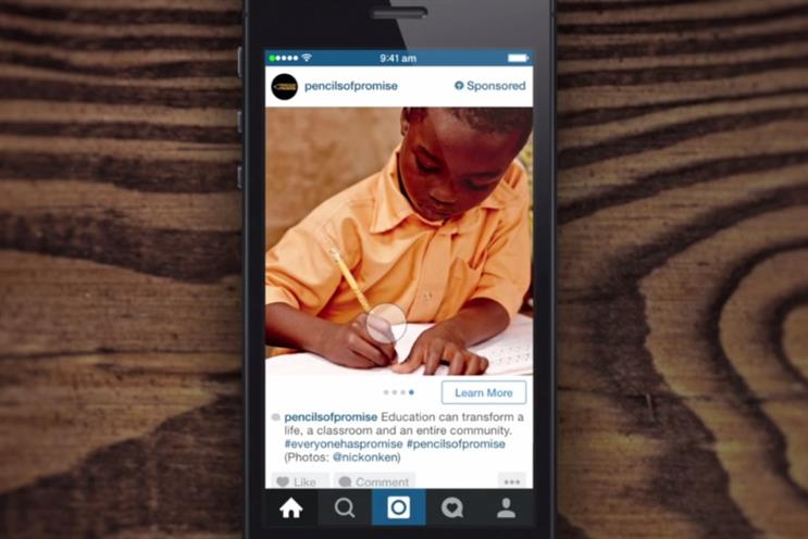 Instagram: slowly building out ad offering with new carousel format