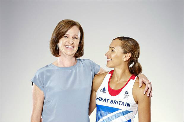 P&G campaign will feature Jessica Ennis-Hill and her mother, Alison Powell