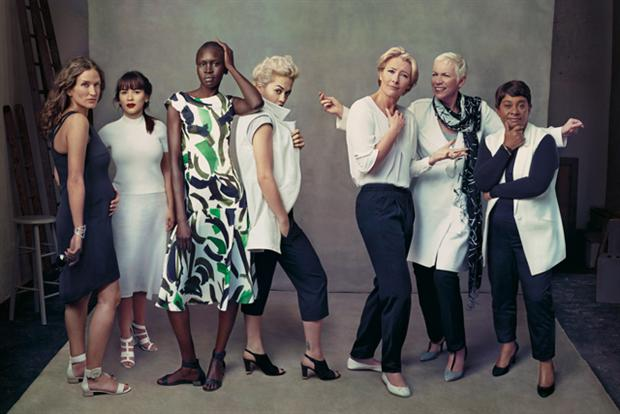 M&S:  'Leading Ladies' campaign shot by Annie Leibovitz