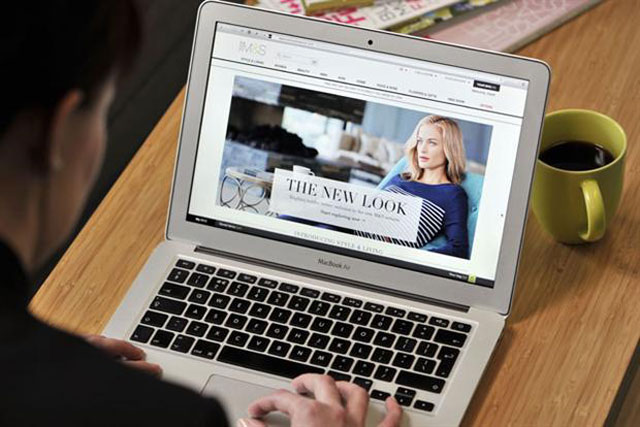 M&S.com: the bedding-in of the new website is cited as a reason for falling sales