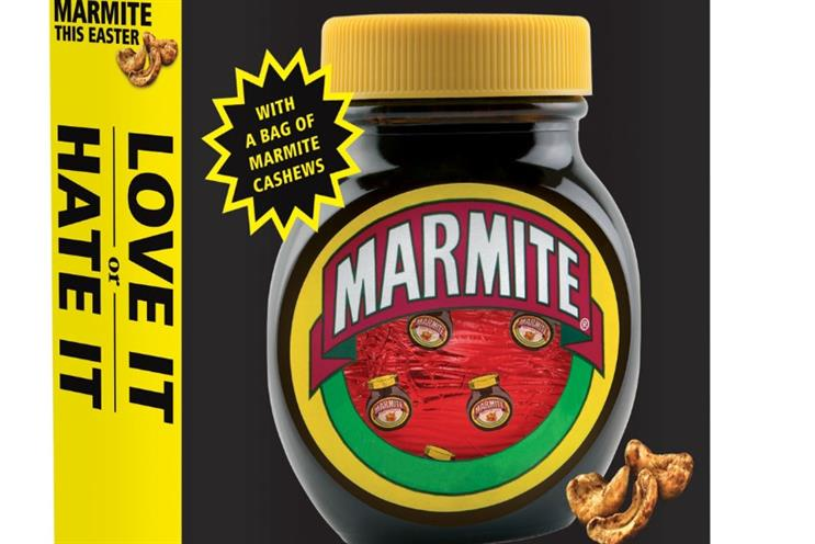 Unilever: Marmite and Pot Noodle eggs added to the Easter range