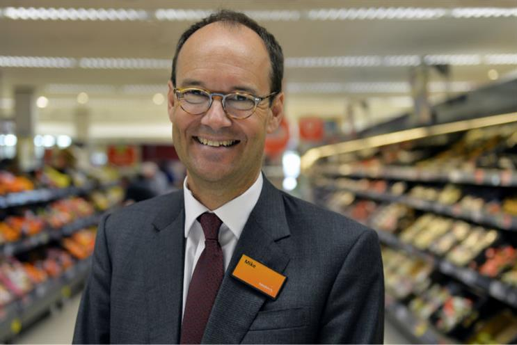 Sainsbury's: CEO Mike Coupe says the discounters have slowed down