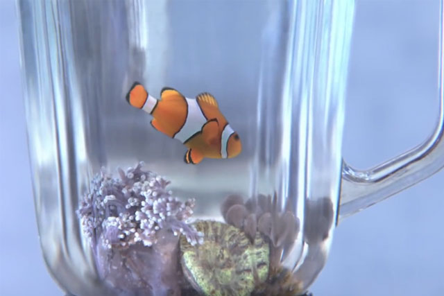 Viral review: Greenpeace puts Disney Nemo lookalike in blender