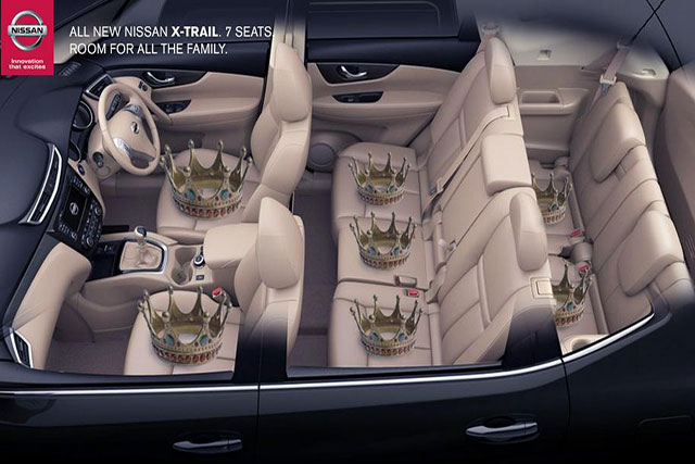 Nissan creates tactical ad 7 mins after royal baby no. 2 announcement