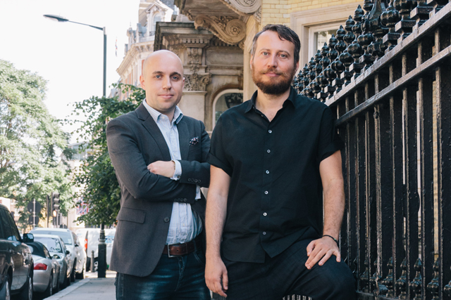 Open Reply partners Paulo Bernini and Julian Douch