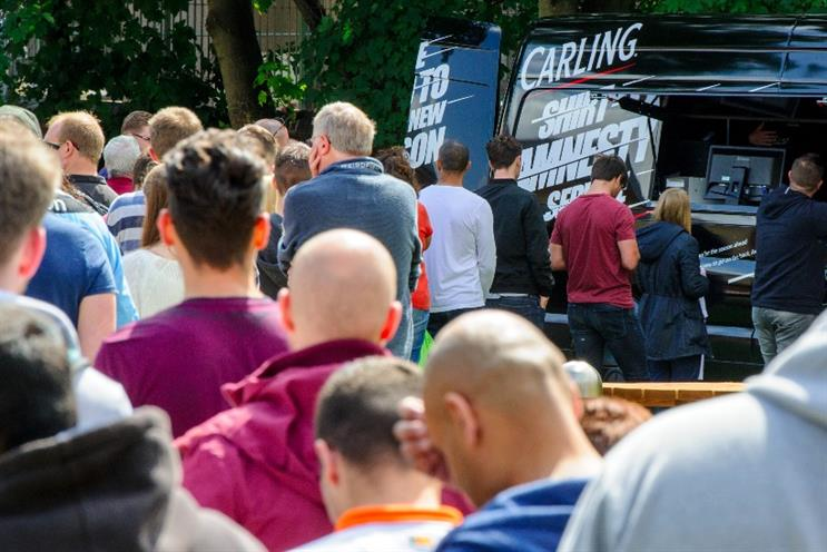 Carling has relaunched its shirt amnesty
