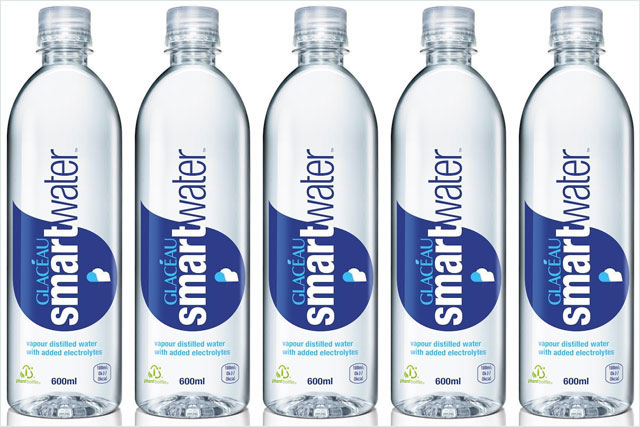 Glaceau Smartwater: Coke rolls out bottled water brand in the UK