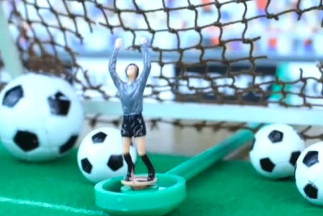 Sony: celebrates Germany's 7-1 win over Brazil