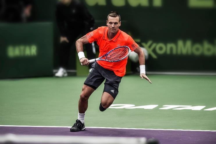 Adidas: brand signs head-to-toe deal with Tomas Berdych