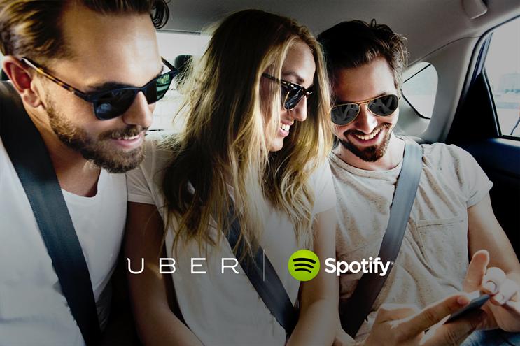 Spotify: partners Uber for playlist service