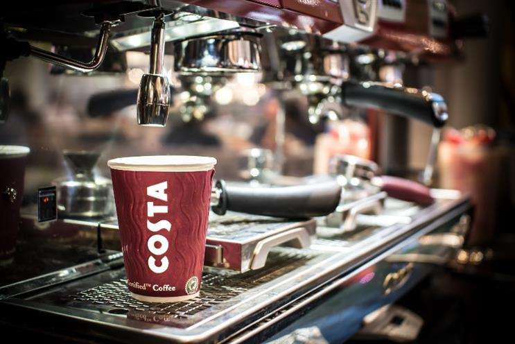 Costa: advertising on TV isn't impactful for coffee brands