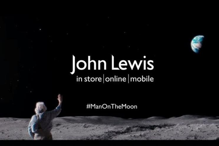 john lewis christmas campaign product focused content is shared more than big brand ads bn john lewis white