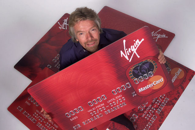 Virgin Money: financial services brand founded by Sir Richard Branson in 1995