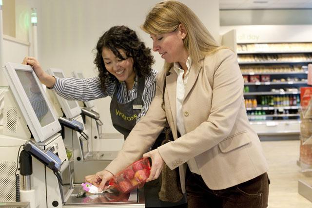 Waitrose: trialling the removal of self-scanning kiosks in a Milton Keynes store