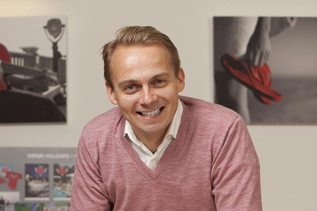 Andrew Shelton: steps down as Virgin Holidays marketing director (photo: Christopher Willan)