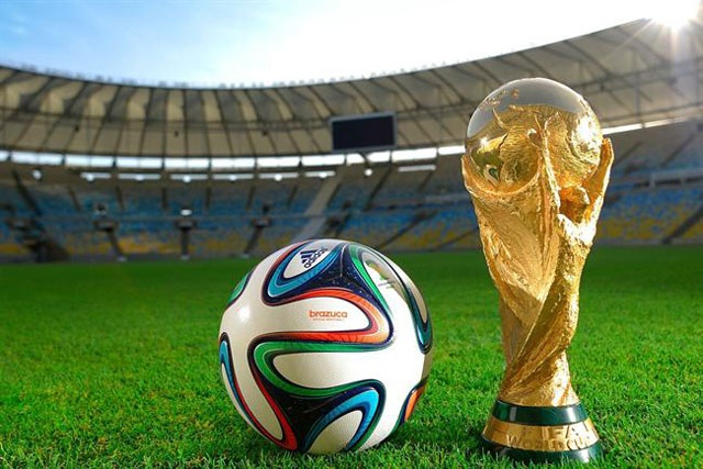 Fifa World Cup: non-sponsor logos have reportedly been taped over