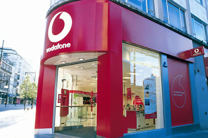 Vodafone...new global positioning