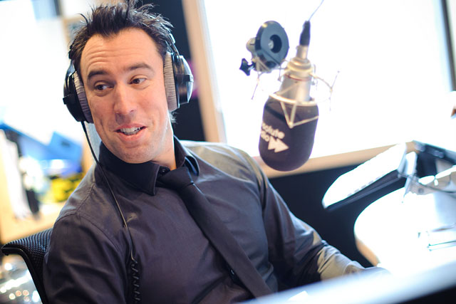 Christian O'Connell: to play Spandau Ballet's Gold at least 22 times on Monday