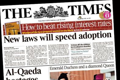 News International claims 526,556 sales for The Times and Times.co.uk