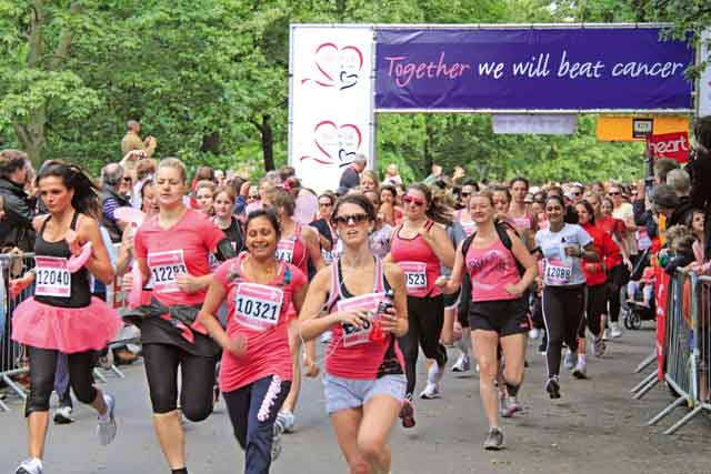 Race for Life calls ad review