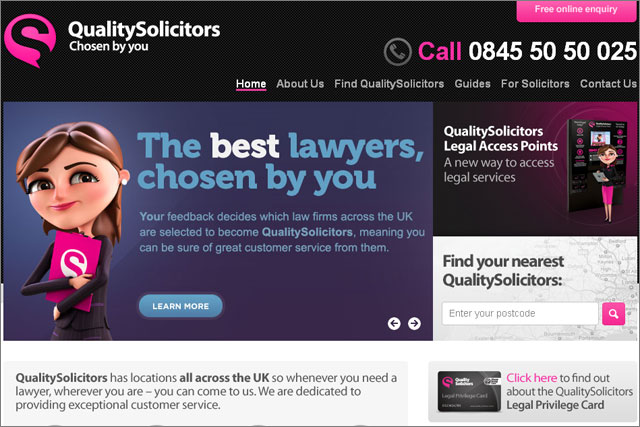Quality Solicitors: hands account to MediaCom Edinburgh