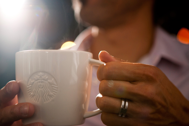 Starbucks: signs up for Coffee Week