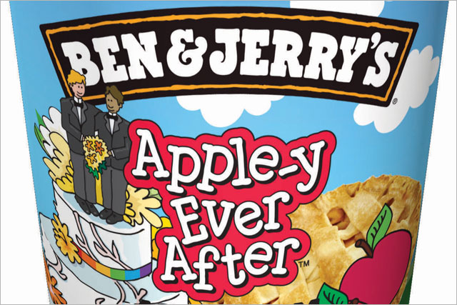 Ben & Jerry's: rolls out Apple-y Ever After flavour