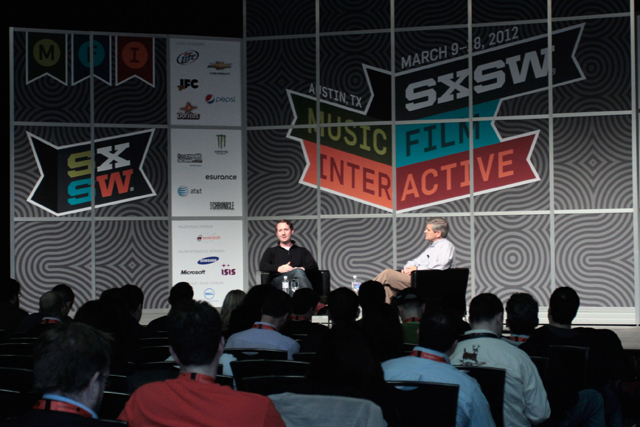 Talks: Events at the five-day SXWS Interactive included 'fireside chats'