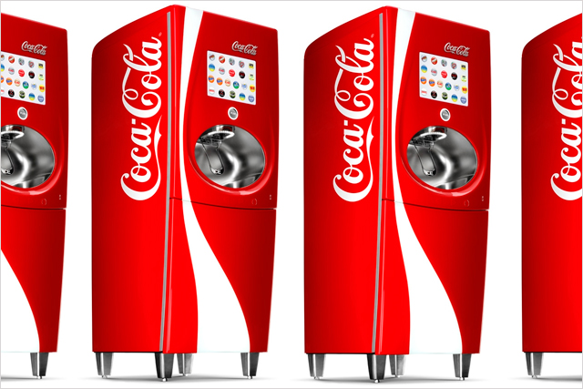Coca-Cola: rolls out self-service drink machines