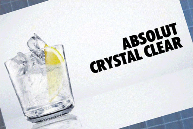 Absolut Vodka: launches augmented reality campaign