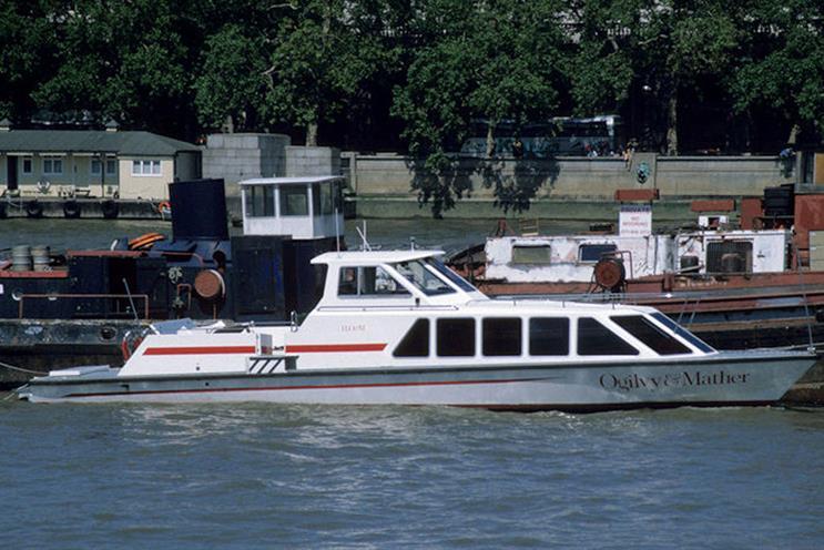 No 67: Ogilvy & Mather's speedboat