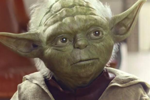 Goodbye to Yoda: the character will be leaving Vodafone's ads