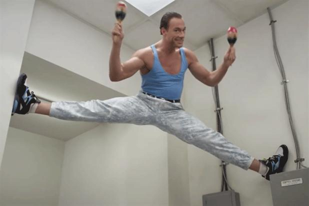 Jean Claude Van Damme: stars in 'the baker' for GoDaddy