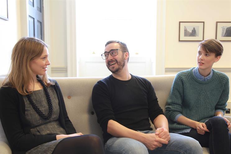 Victoria Ellis, Mat Dobson and Cecelia Hund