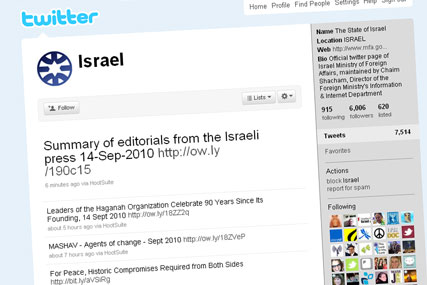 Twitter: Israel has paid six-figure sum for @israel