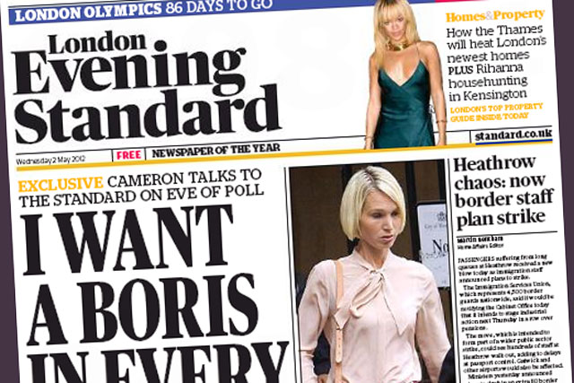 London Evening Standard: e-auction proves disappointing