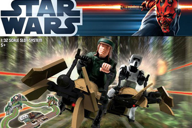 Scalextric: launches Star Wars sets