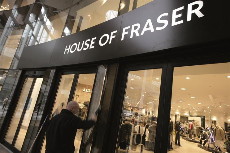 House of Fraser: The move to Goodstuff ends a 14-year relationship with Starcom MediaVest Group