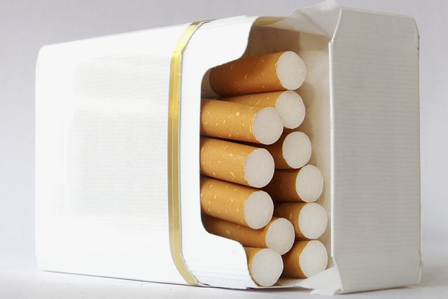 Cigarette packets: Gallaher has latest press drive against plain packaging banned
