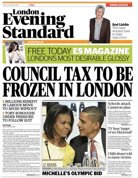 Evening Standard: going free