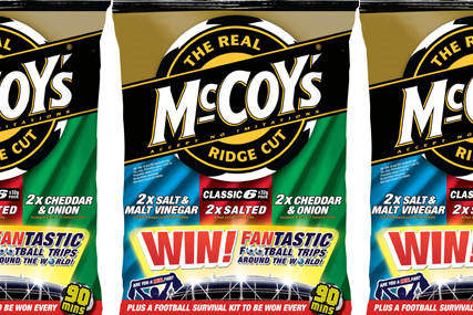 McCoy's: launches World Cup promotion