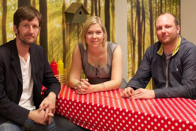 David & Goliath: Dave Askwith, Katie Treggiden and Rob Porteous