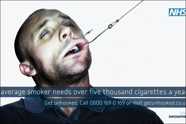 Smokefree campaign: adspend slashed