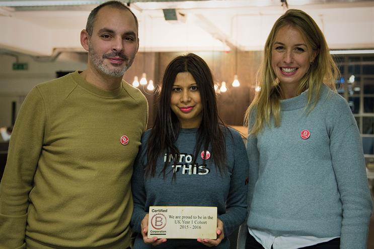 18 Feet & Rising: made a number of changes in order to achieve B Corp certification, including giving employees time to volunteer