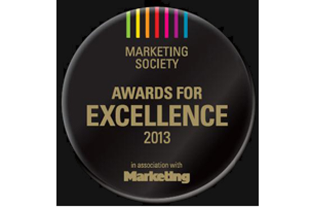 Marketing Society Awards for Excellence 2013