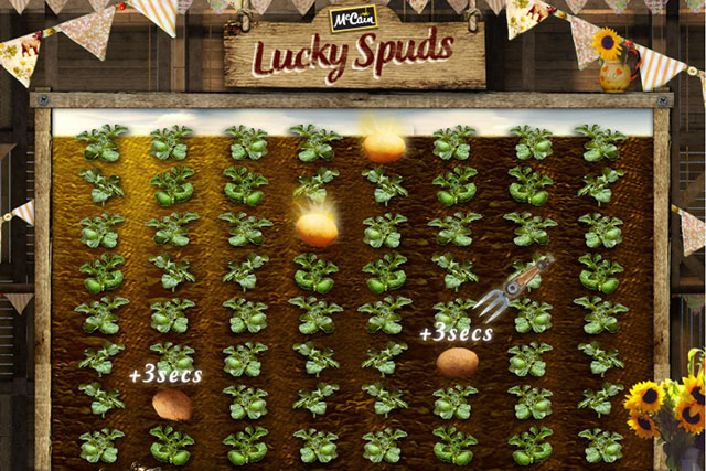 McCain: launches 'lucky spud' activity