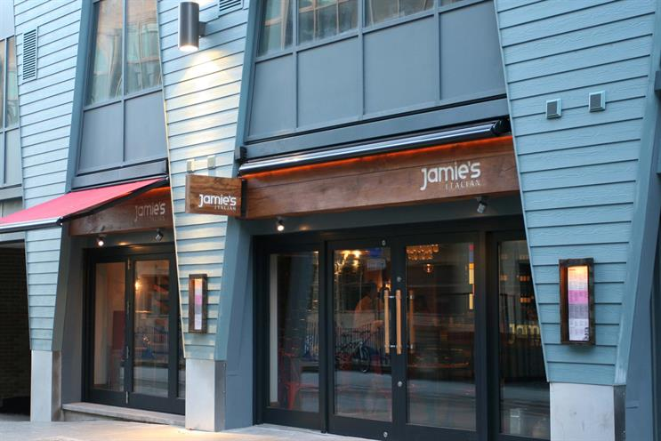 Jamie's Italian: high-street chain has hired Oystercatchers