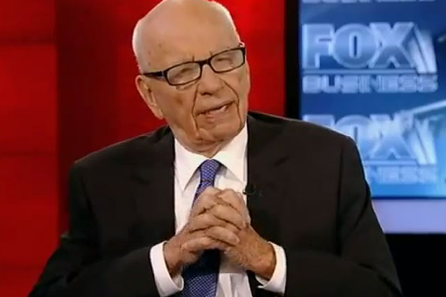 Rupert Murdoch: chairman and CEO of News Corporation